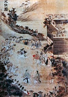 An old Korean painting